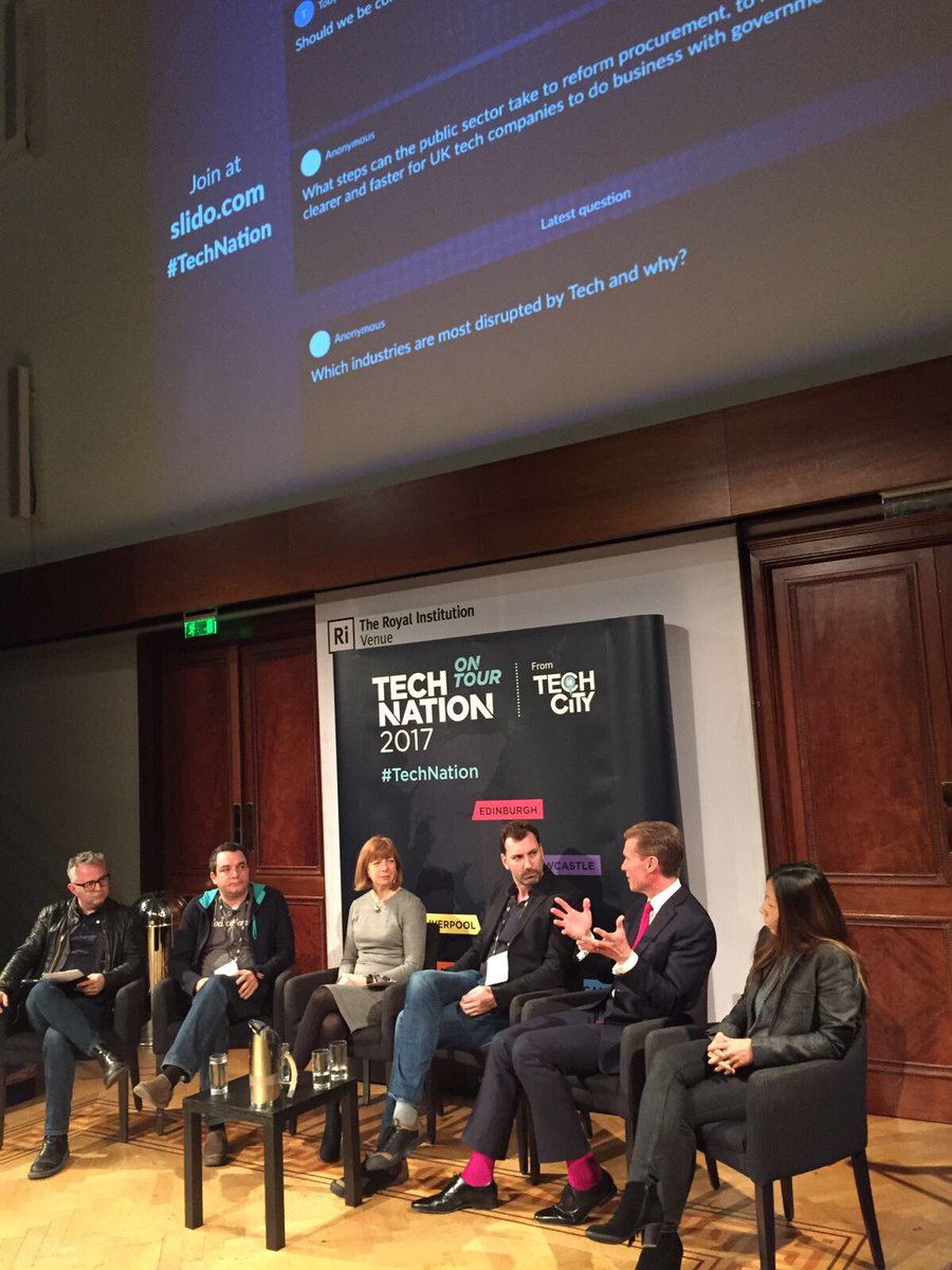 Great session to kick off #TechNation this morning. Loved the optimism...
