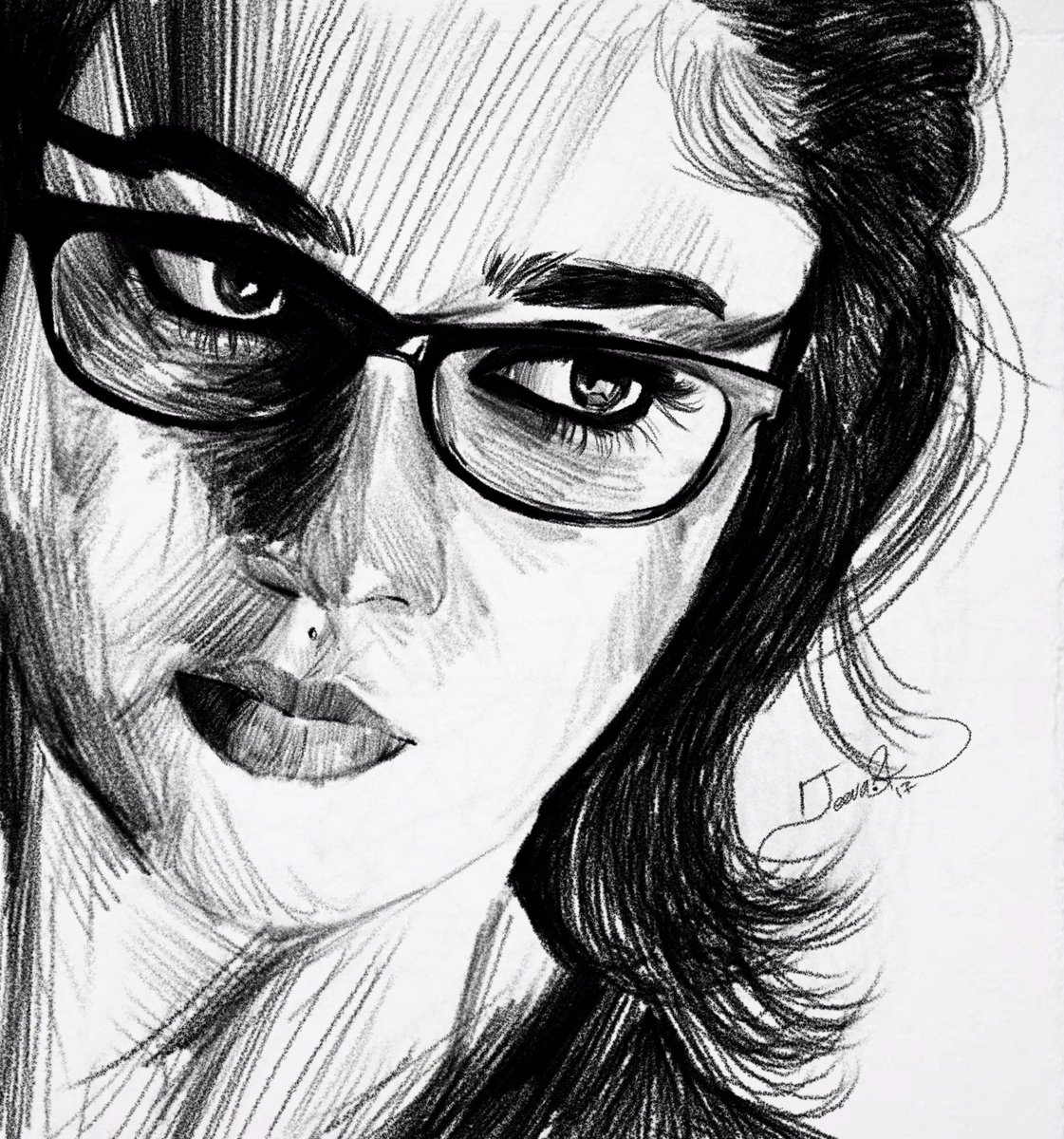 """Jeeva artist on Twitter: """"Today's sketch Actress lady ..."""