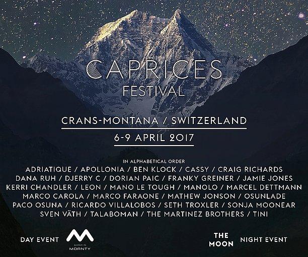 Vous êtes fan de #musique #électro? Alors participez du 6 au 9 avril au @Caprices_fest @cransmontana #Valais!  http:// goo.gl/6Bme31  &nbsp;  <br>http://pic.twitter.com/0uTMlsFIst