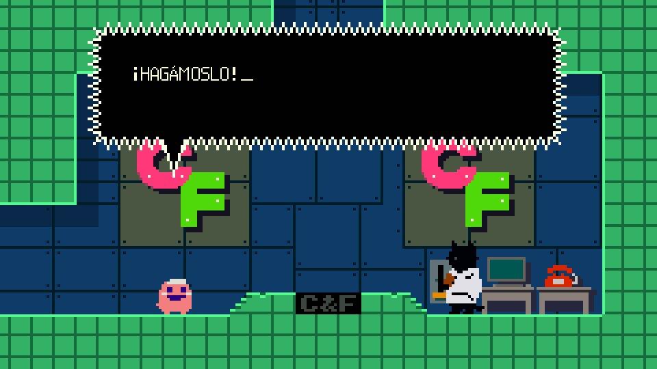 ¡Ey! ¡Ya puedes jugar a Keroblaster en español! ¡Ve a STEAM y echa un vistazo!|http://store.steampowered.com/app/292500/ #keroblaster ...