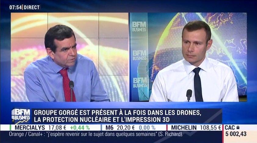 Pour revoir l&#39;interview de Raphaël Gorgé sur @bfmbusiness #GoodMorningBusiness  http:// bit.ly/1LugebG  &nbsp;   #impression3d #3Dprinting #innovation<br>http://pic.twitter.com/uz4FxOhzUd