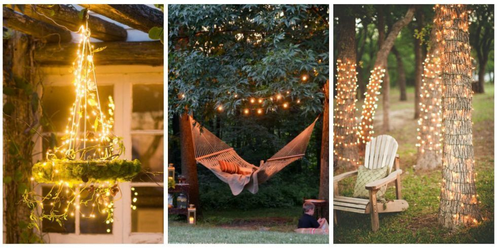 13 inspiring ways to use fairy lights in your garden https://t.co/0iHJ...