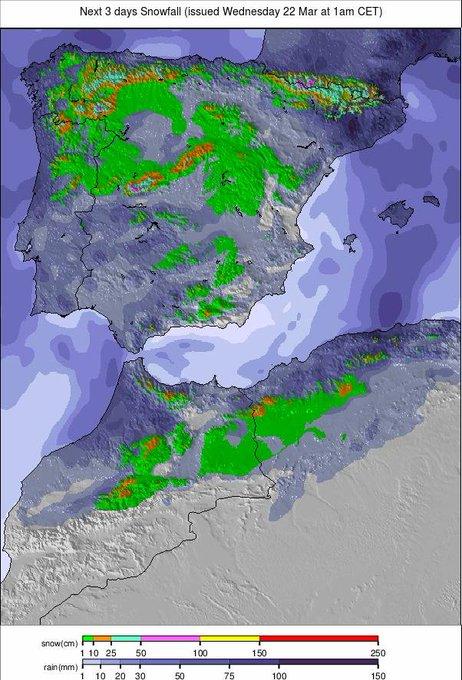 Vuelve la nieve, vuelve el frío, vuelve el invierno!!! ❄️❄️❄️😍👏🎉🔝 #welcomewinter #infonieve #laprimaverapuedeesperar‼️