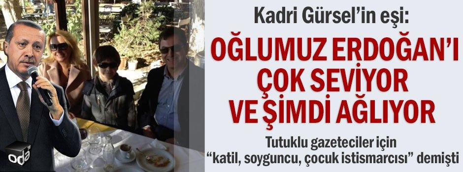 Kadri Gürsel'in eşi:Oğlumuz Erdoğan'ı çok seviyor ve şimdi ağlıyor ht...