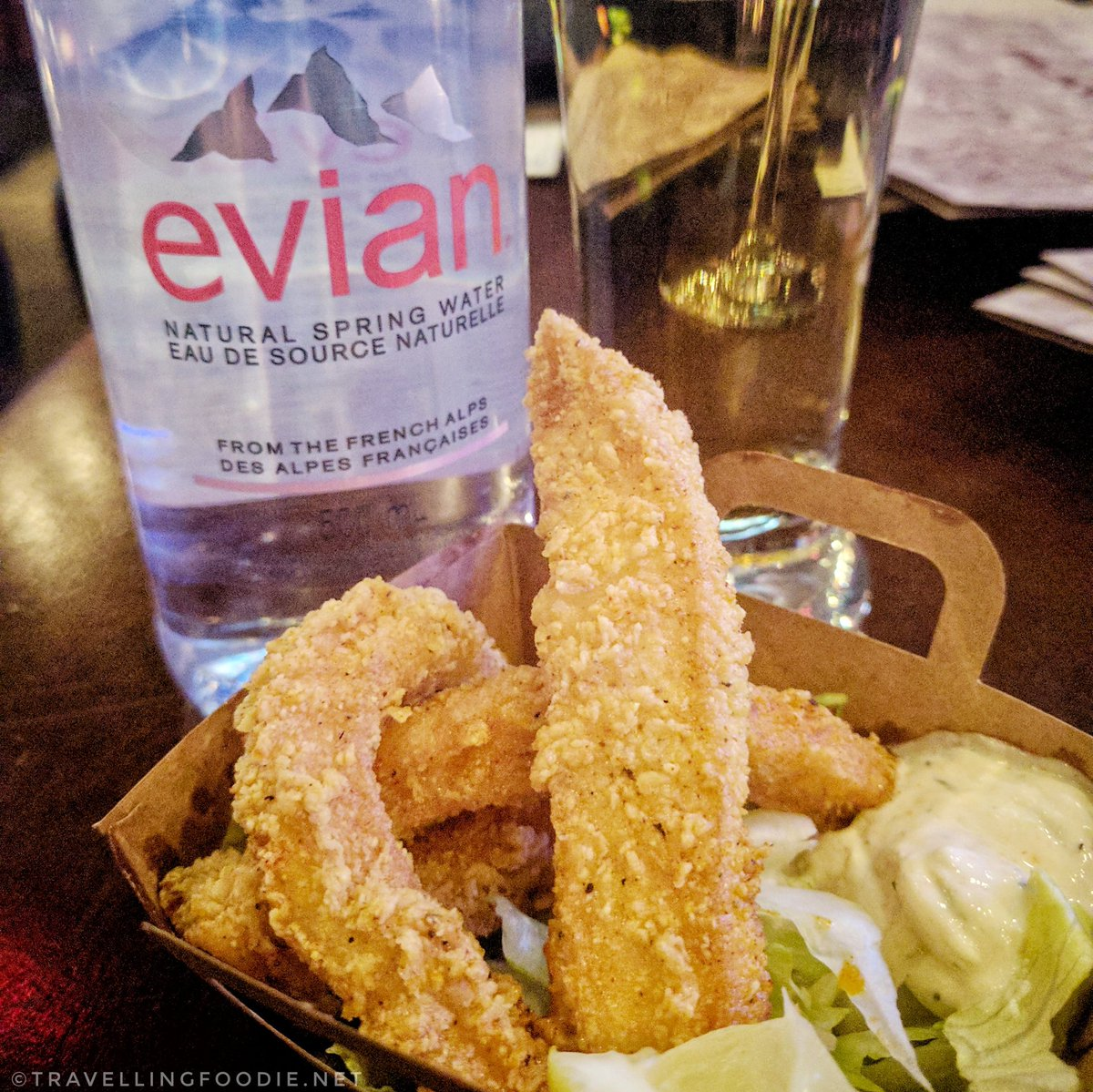 Humboldt Calamari Fries from Real Sports Bar & Grill in Toronto for Ocean Wise & MLSE Event