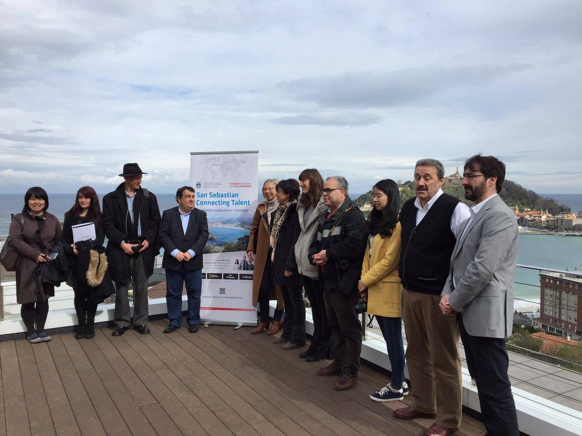 Foreing journalist interested    In San Sebastian city of Talent and innovation #SSConnectingTalent #DonostiaINN