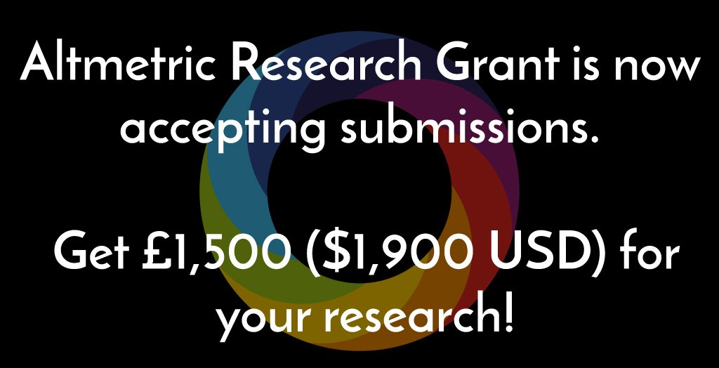 #almgrant2017 is now accepting submissions! Get involved!  https://www. digital-science.com/blog/news/altm etrics-annual-research-grant-applications-now-open-2017-almgrant2017/ &nbsp; … <br>http://pic.twitter.com/IXCqaeqkvi