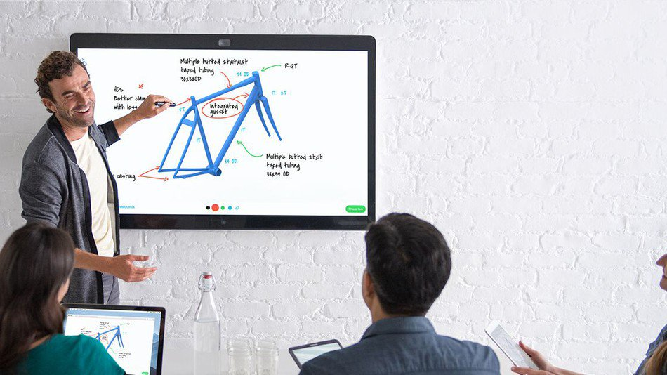 Cisco's 'Spark' board is basically a giant iPad, but it makes sense