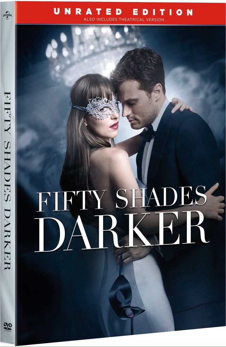 Love all 3 #FiftyShadesDarker DVD / Blu-ray covers❤️ I wish I could ad...