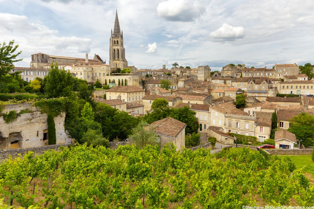 Happy #WineWednesday from Saint-Emilion 🍷 Who fancies a glass of the w...