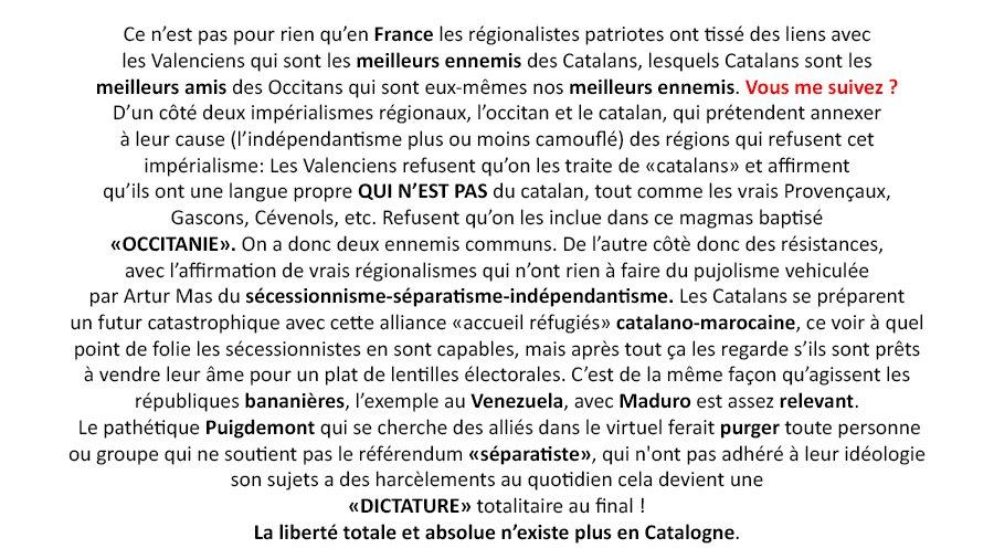 @enoticiescat Le parlement régional veut construire la nouvelle république #CataDisney #parasites #corrompus  #occitan <br>http://pic.twitter.com/mnbSueM2Ds