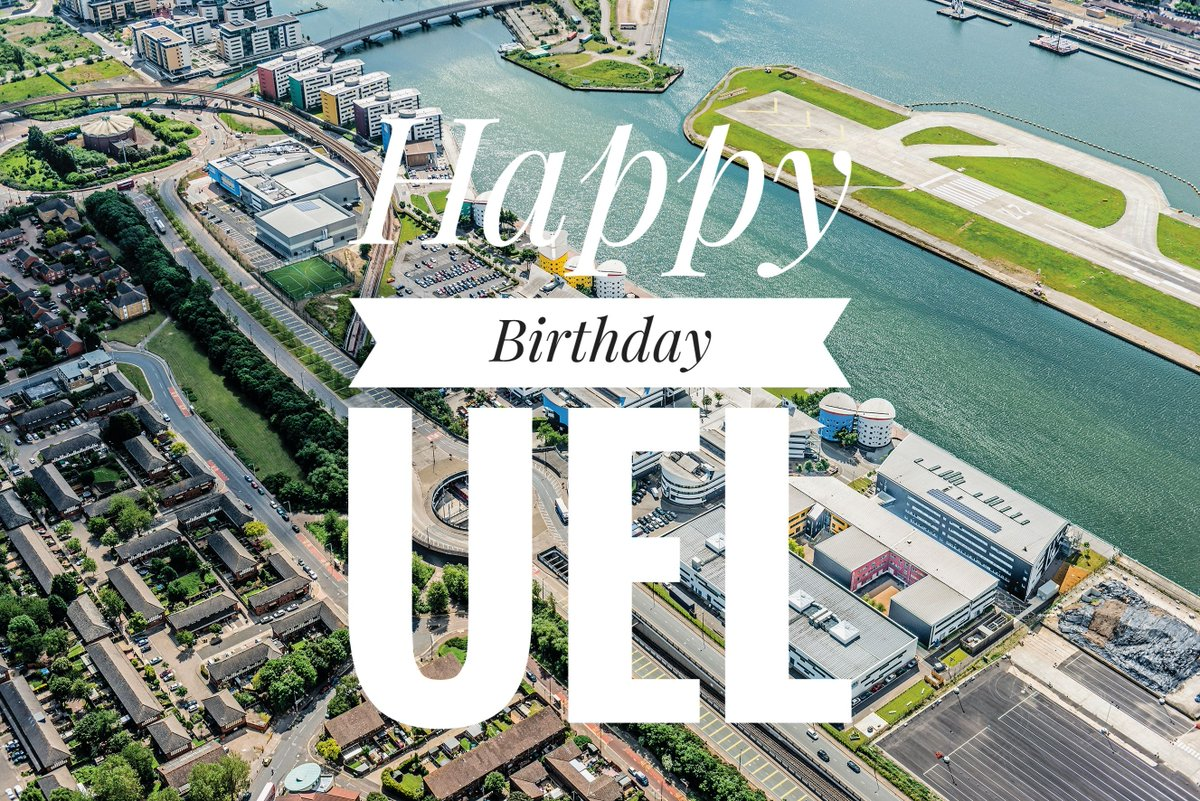 Happy Birthday UEL! It's been 25 years since we became a university. #25andRising https://t.co/4lLHAuTI7Y