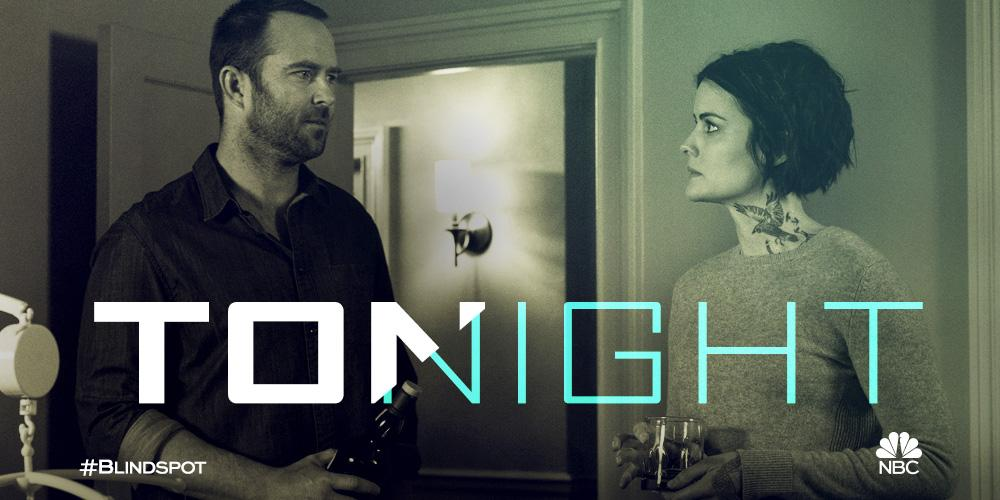 It's time to lay it on the line. #Blindspot is back tonight at 8/7c on...