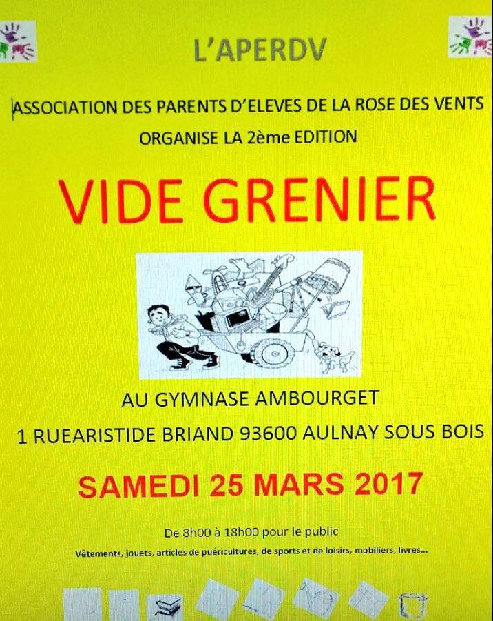 vide grenier @AulnaySousBois ;) samedi 25 mars #VieuxPays #aperdv #chiner #brocante #aulnay RT apprécié ;)<br>http://pic.twitter.com/R17PAr23VN