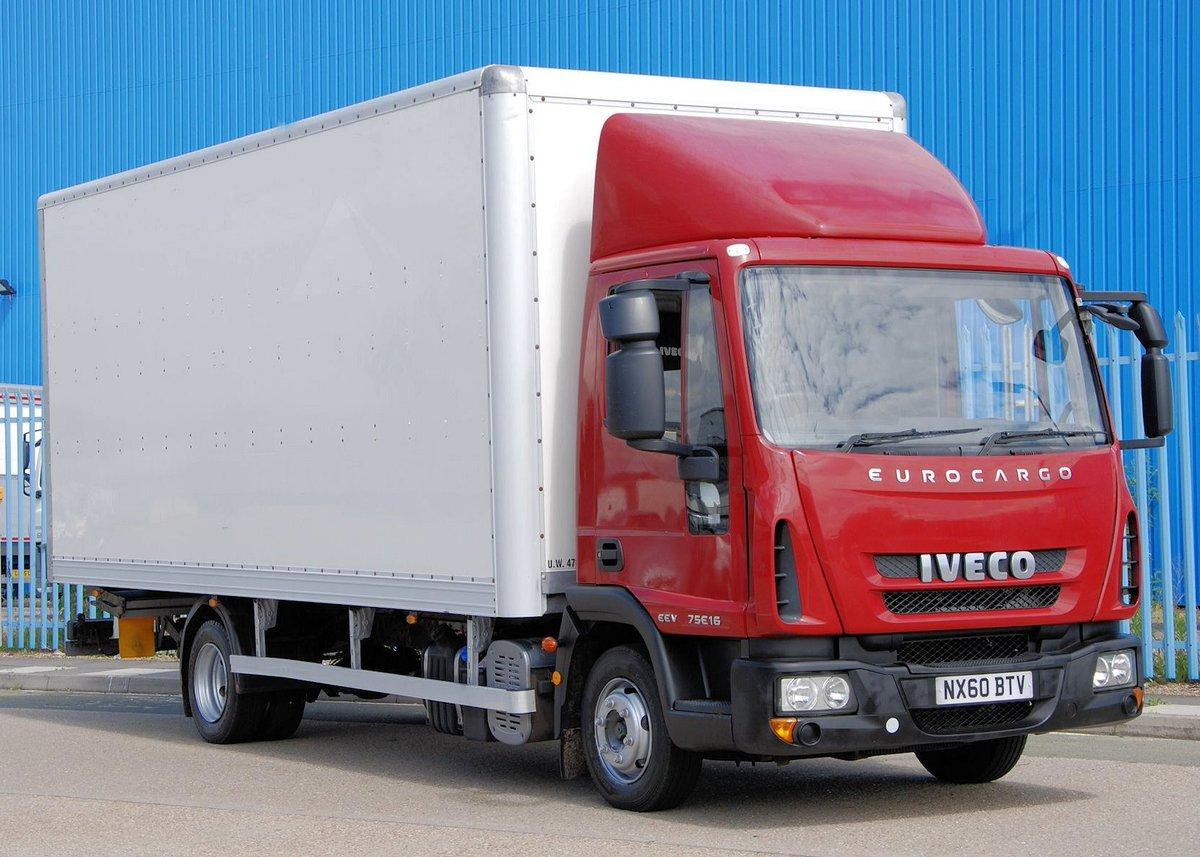 IVECO, Box Van, Automatc, 7.5 GVW #vans #Transports<br>http://pic.twitter.com/vOWYbuLBlq
