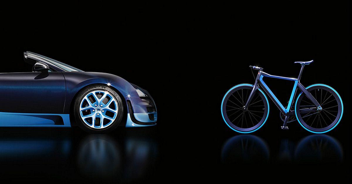 Designboom On Twitter Bugatti Team Up With Pg Bikes To Craft