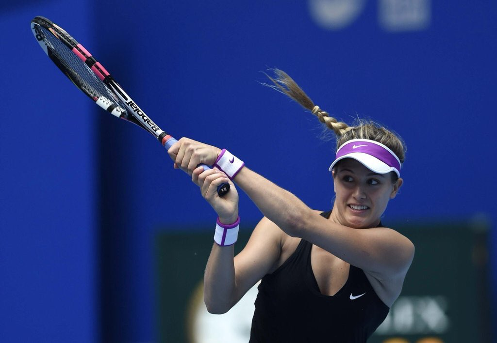 Eugenie #Bouchard vs Ash #Barty is about to start!  Bet on the match &...