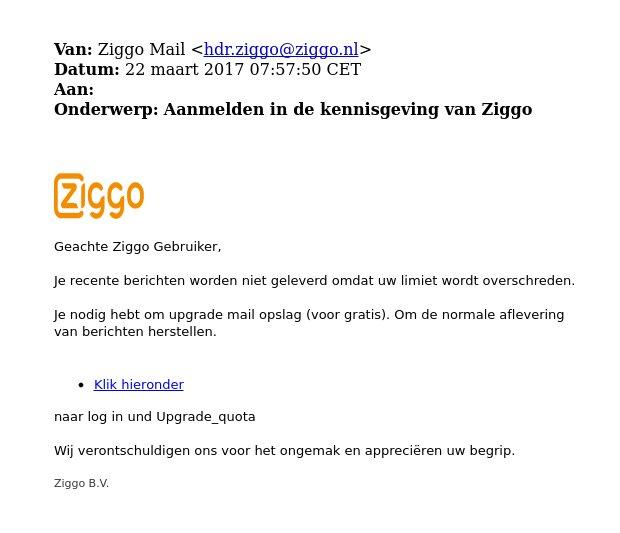 Ziggo webmail  Webmail Online Inloggen