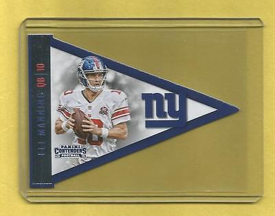 2015 Panini Contenders #EliManning Pennent (Giants)  http:// dlvr.it/NhZ4X2  &nbsp;   #NFL #Giants <br>http://pic.twitter.com/VL5CJnOAnG