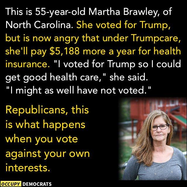 @realDonaldTrump So many #Trumpgrets out here. #WednesdayWisdom #Trump...