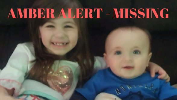 BREAKING: Amber Alert issued for 2 kids taken in stolen vehicle near F...