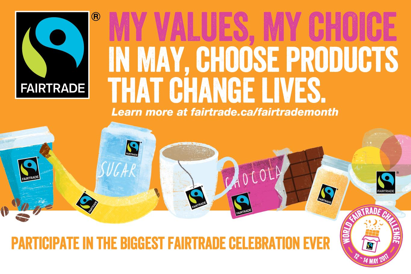 Month of May is #FairtradeMonth in #Canada! What will you be up to? https://t.co/iVJBLG6L9c https://t.co/zUBDHk4tUW