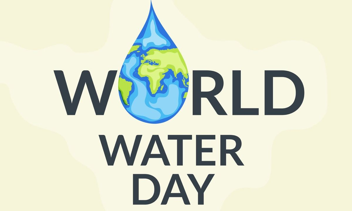 Happy World Water Day! Make Every Drop Count! https://t.co/pVxjvBj5ss