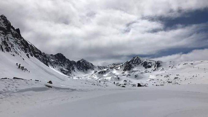 #Vent de sud modéré mais encore de belles conditions sur l'est des #Pyrénées aujourd'hui