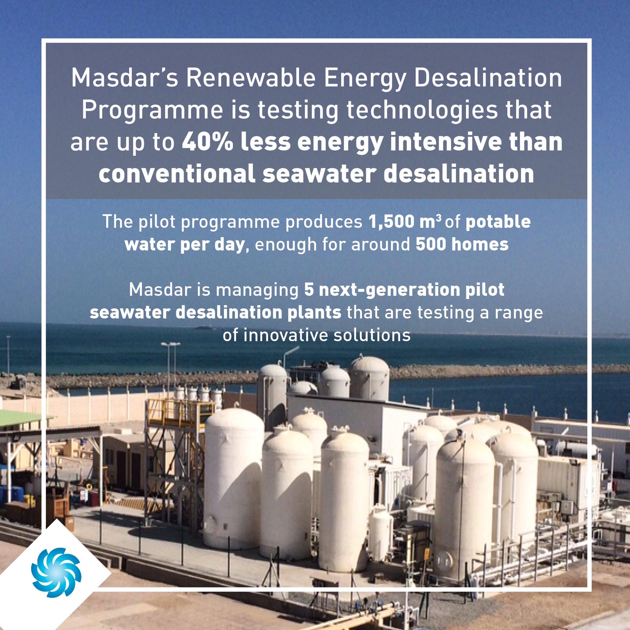 "Masdar on Twitter "" Masdar is leading efforts to ensure a"