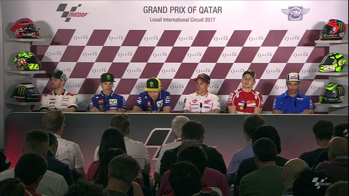 'I think he will be very strong' - @ValeYellow46  #QatarGP https://t.c...