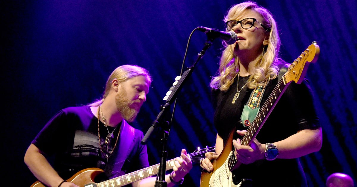 See Tedeschi Trucks Band's smoldering cover of George Jones' 'Color of...