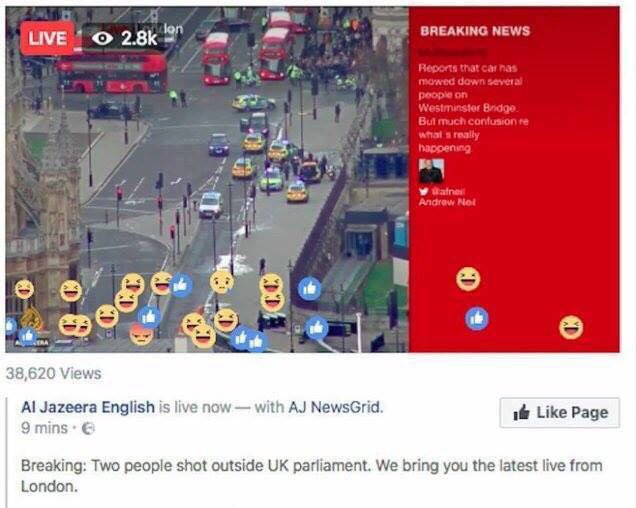 Al Jazeera viewers react with joy over London Terror Attack