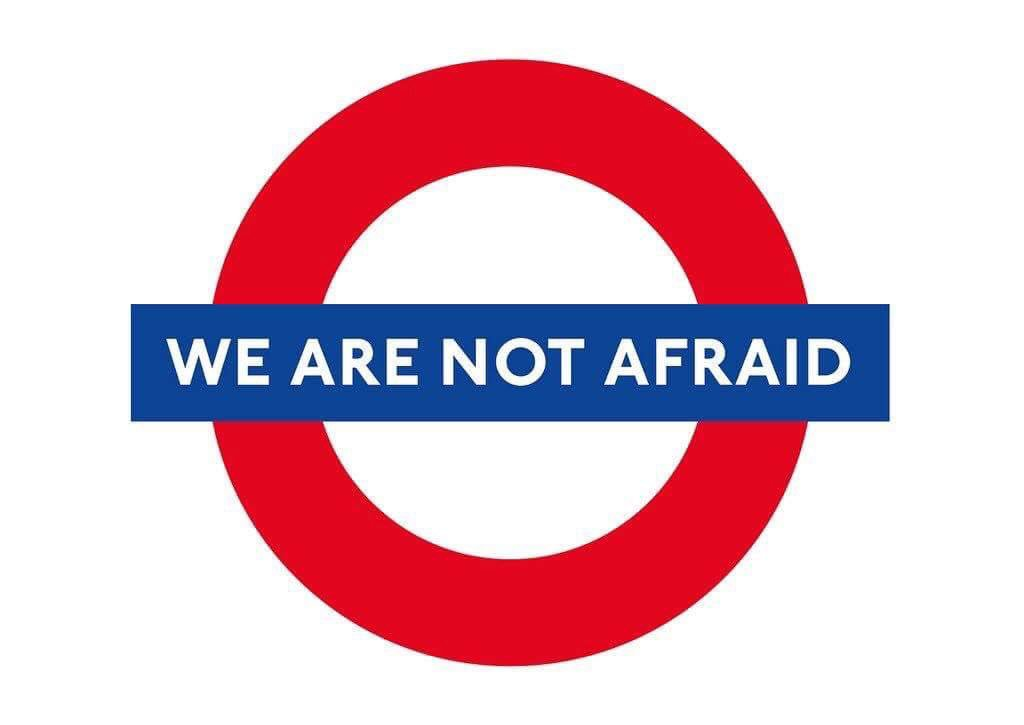 Our Emergency services have done us proud today. But let's remember that no race or religion is to blame for this
