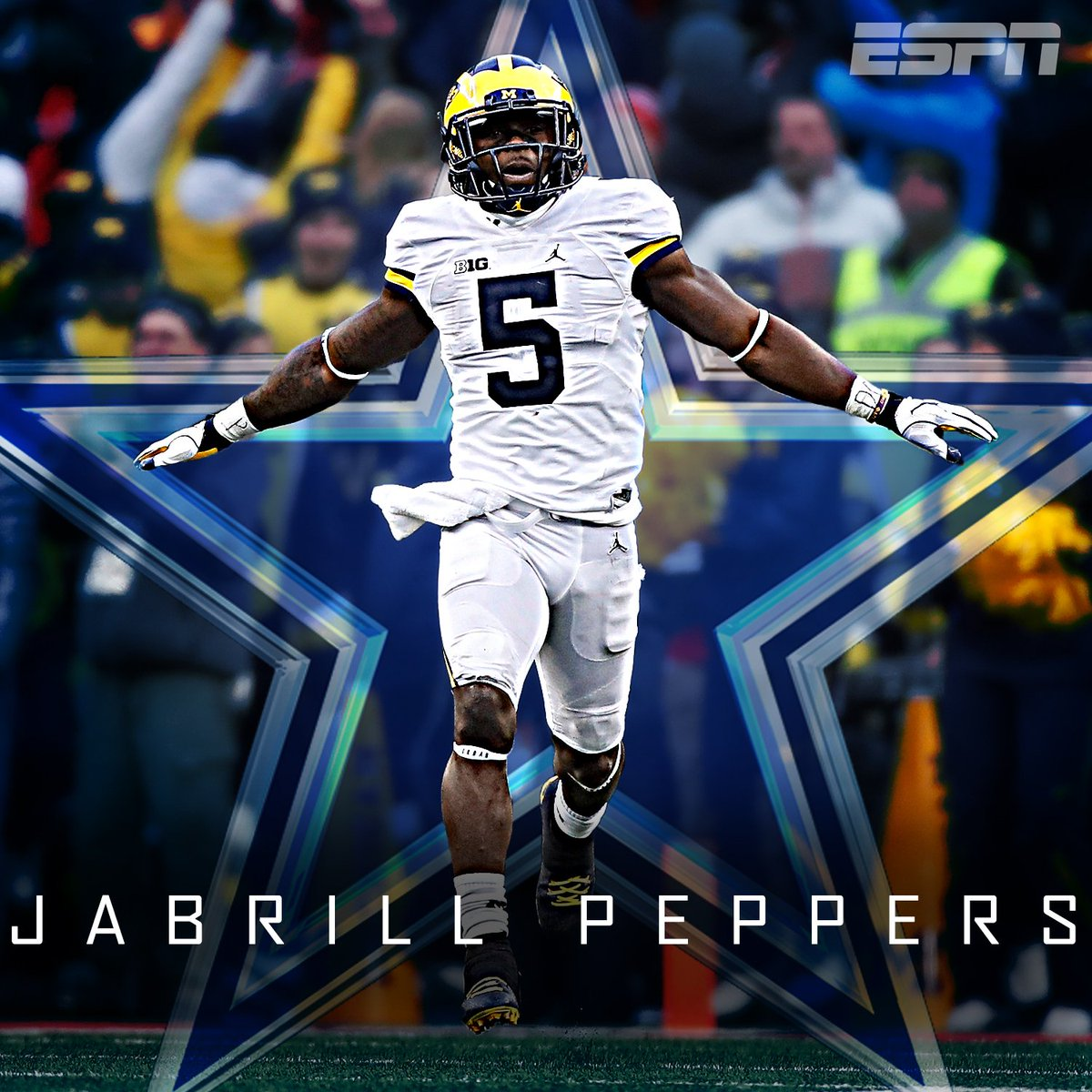 According to Kiper's latest mock draft, the first player the Cowboys t...