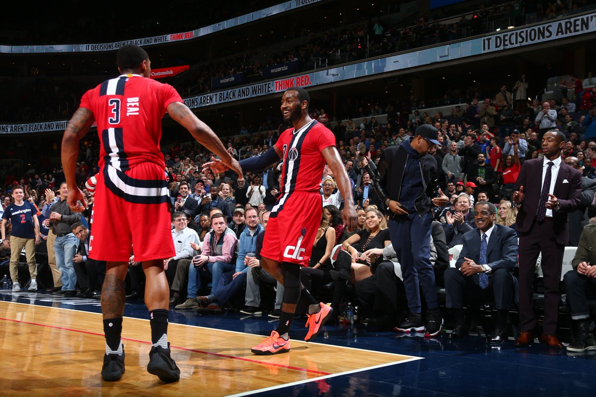 Last game of the season in our #WizThrowback uniforms tonight at 8pm!...