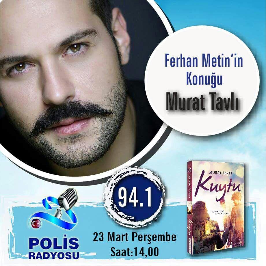 Yarın saat 14:00 da sevgili Murat TAVLI ile yeni kitabı'KUYTU'yu konuş...
