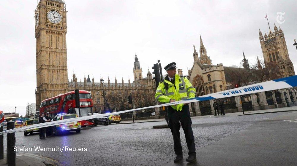 Возле здания британского парламента произошла стрельба  - есть раненные, - Reuters - Цензор.НЕТ 5699