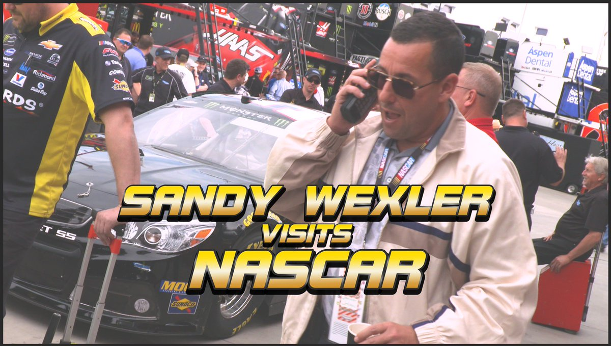 ⭐️ NASCAR is headed to Hollywood and #SandyWexler is making his pitch! ⭐️ #NASCARGoesWest