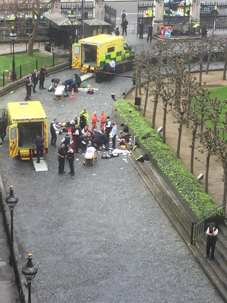 МИД проверяет информацию о наличии украинцев среди пострадавших в результате стрельбы возле парламента Великобритании - Цензор.НЕТ 9363