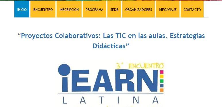 En la web del Encuentro se encuentra toda la información de las actividades de los 3 días #iearnlatina2017: https://t.co/OEVk7EtVV1 https://t.co/zx8qP2g0GT