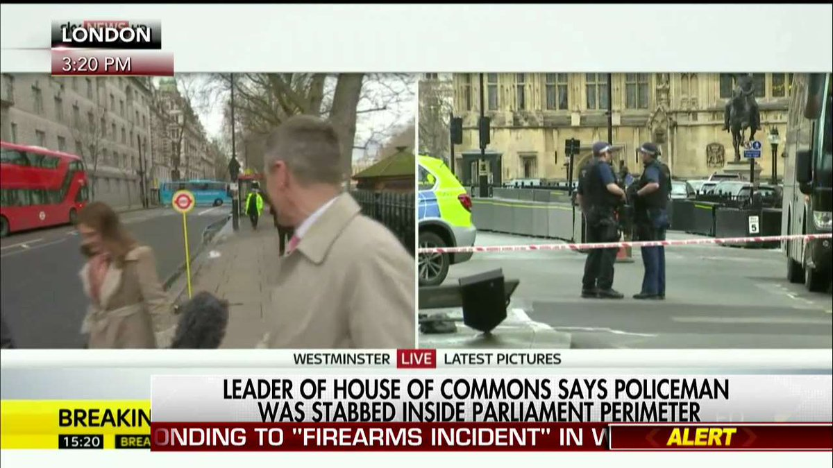 Leader of House of Commons says policeman was stabbed inside Parliamen...
