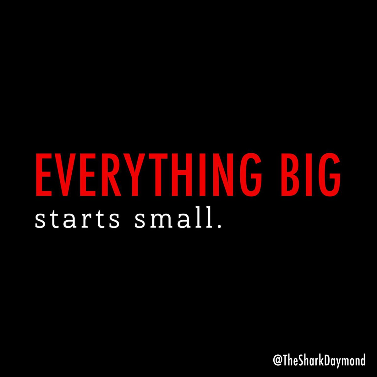 It takes just as much effort to dream small as it does to dream big. #...