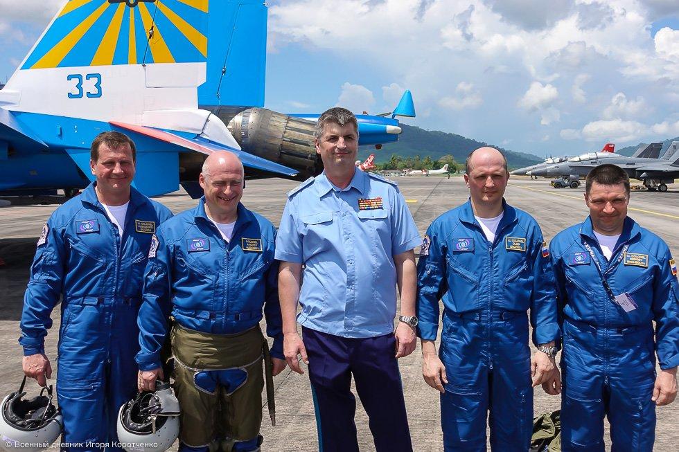 русские витязи состав экипажа фото аэропорт