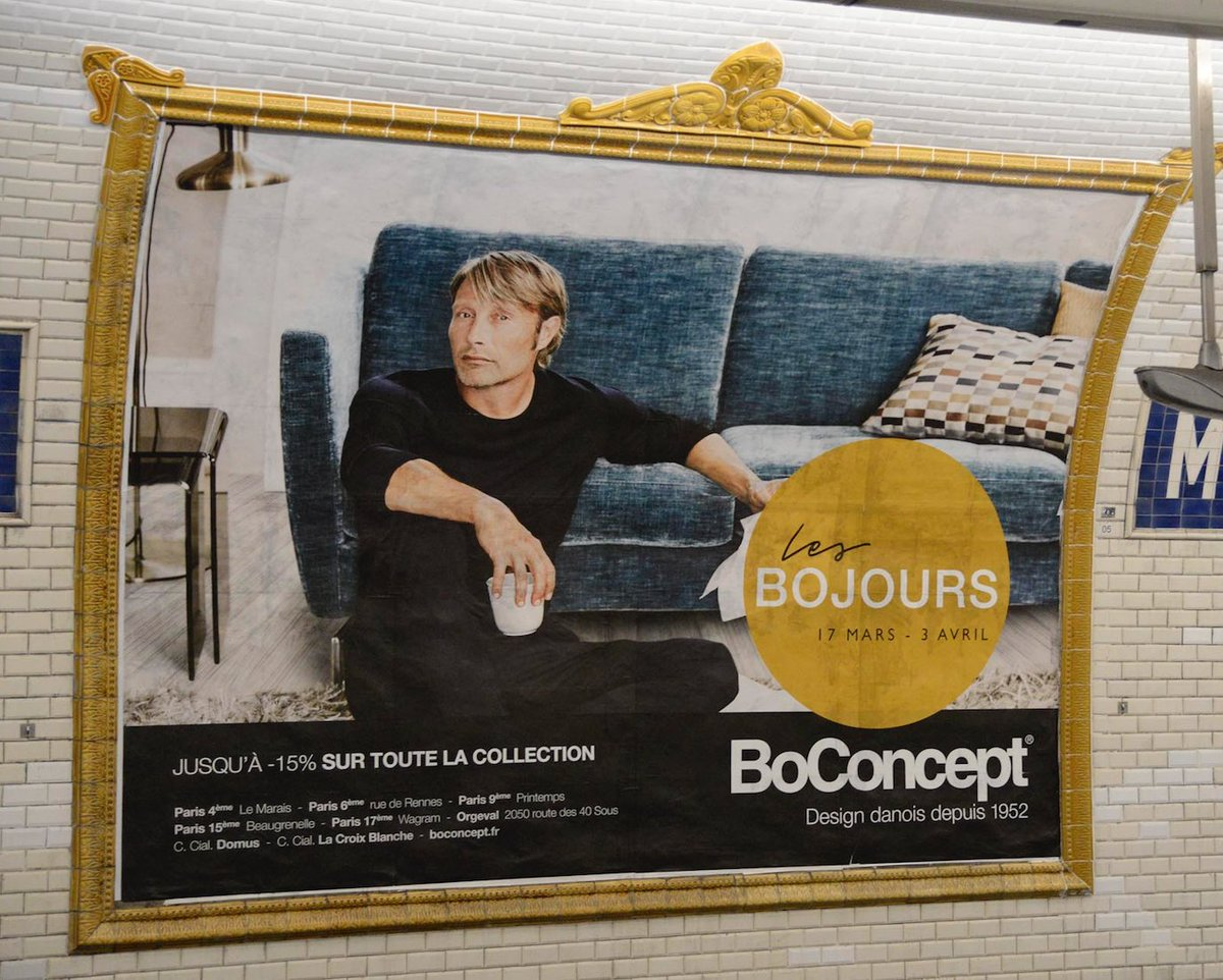 """Boconcept Rue De Rennes nicolas couvret on twitter: """"oops we did it again (mais en"""