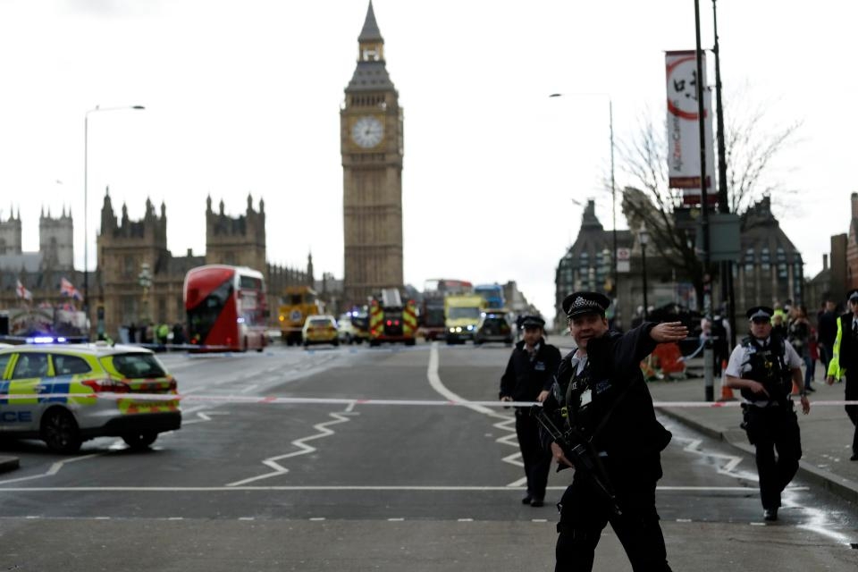 Scotland Yard issue list of no go areas amid Parliament terror chaos h...