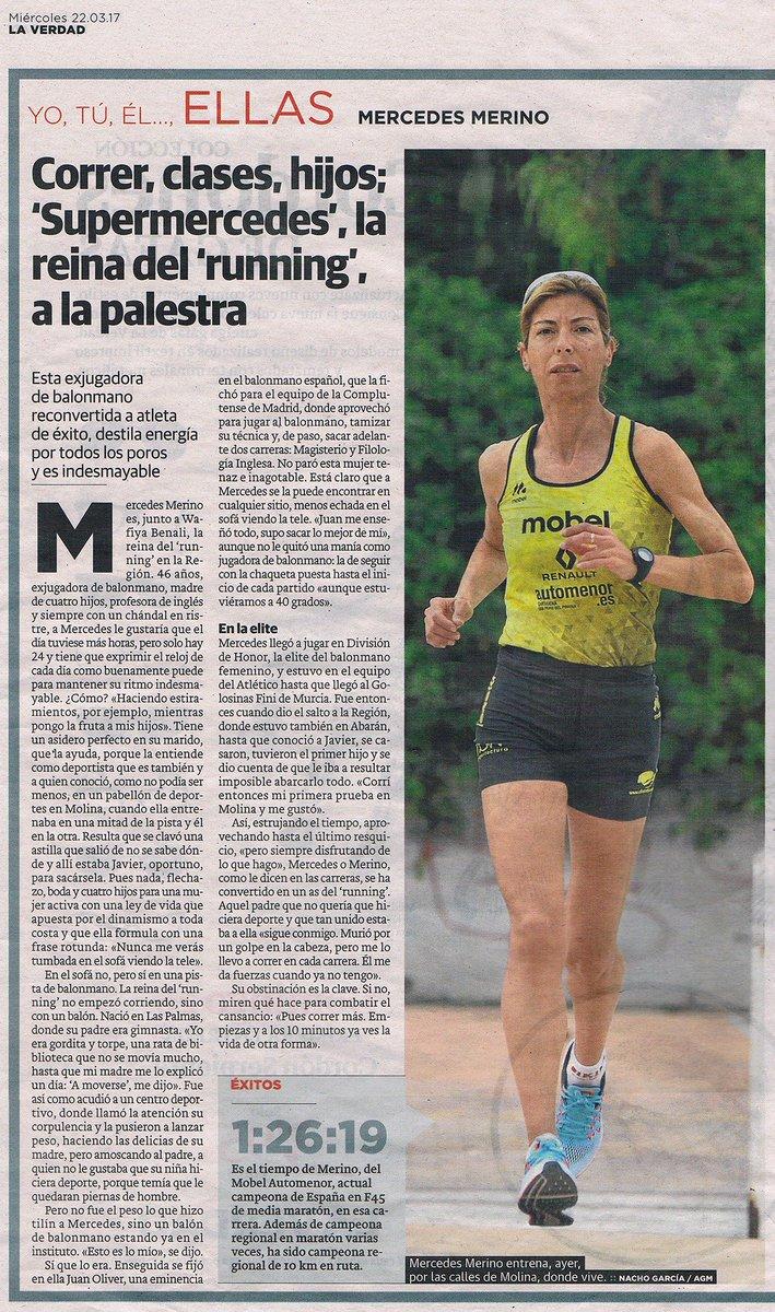 mobel sport on twitter gran entrevista a super mercedes merino mobelsport automenor running team publicada hoy en laverdad es madre de cuatro