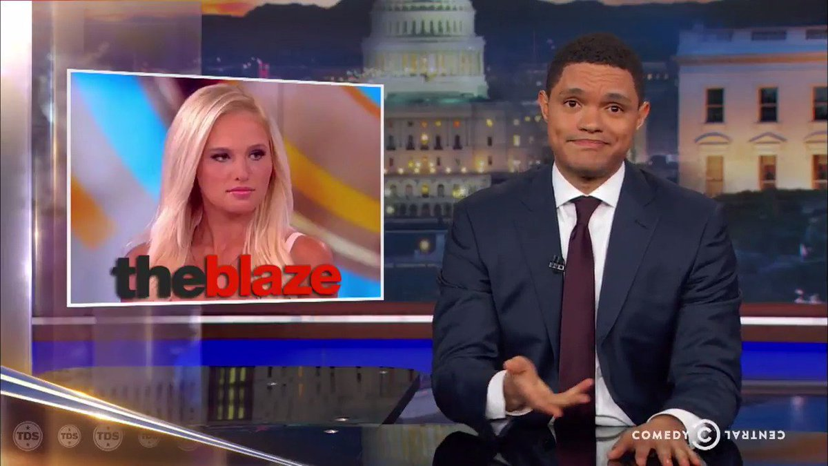 The #DailyShow takes an exasperated look at all the huge stories they...