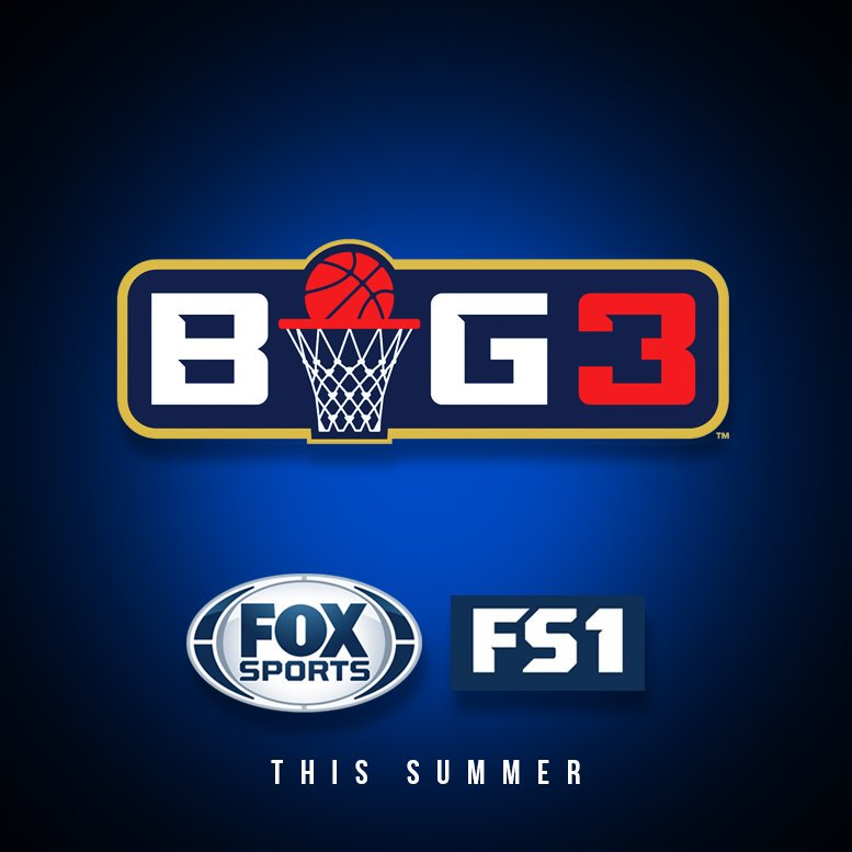 BREAKING: The #BIG3 has signed a broadcast deal with FOX SPORTS @FOXSp...