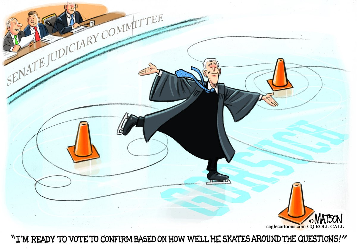 #NeilGorsuch #SupremeCourt #ConfirmationHearing #NailingIt? Editorial #cartoon of the day by R.J. Matson:  http://www. dailynews.com/opinion/201703 22/editorial-cartoon-of-the-day &nbsp; … <br>http://pic.twitter.com/cYrx8wnWsZ