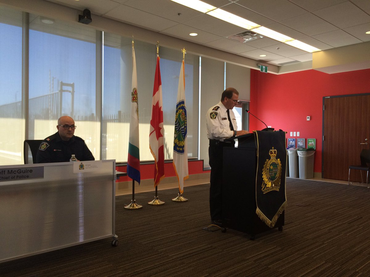 Chief says Justin Kuijer will appear in St.Catharines court tomorrow t...